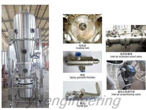 LDP Fluid Bed Coating Machine