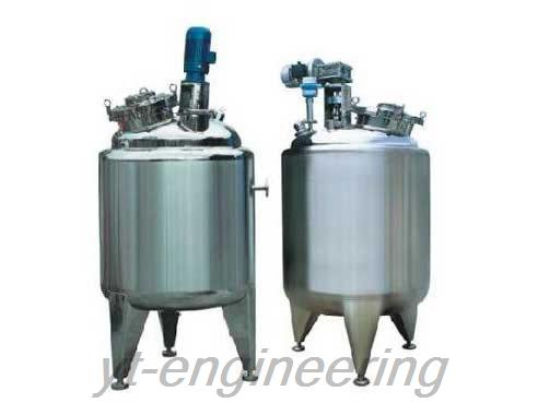 JCG Cooler and Heating Jacket Tank